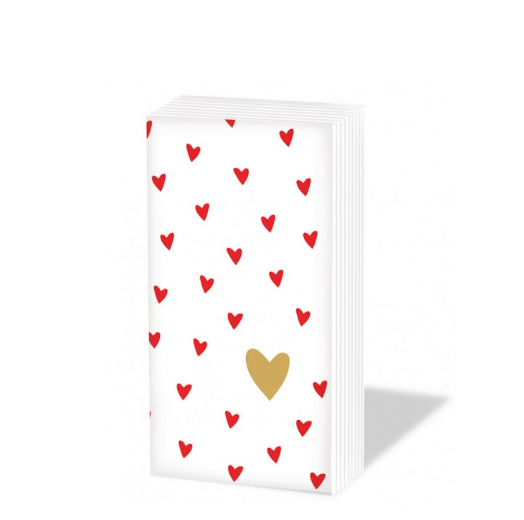 Papiertaschentuch Little hearts