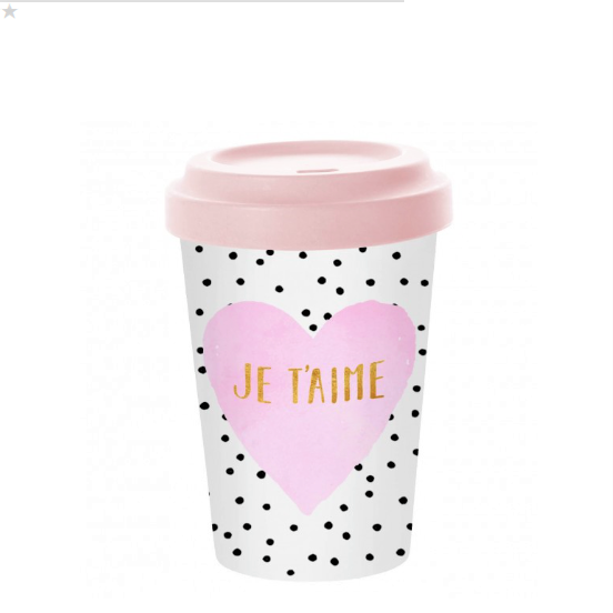 To-Go Becher Je t´aime